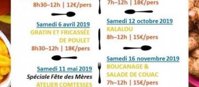 Atelier culinaire à Saint-Laurent du Maroni