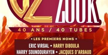 Generation Zouk - 40 ans 40 tubes au PROGT