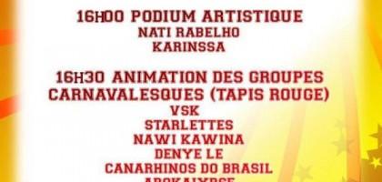 Carnaval 2019 de Kourou : programme d'ouverture