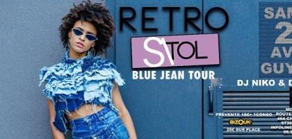 Retro Si Tol en Guyane Blue Jean Tour Dj Niko & Dj Mike