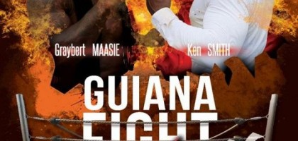 Guiana fight , le choc des titans