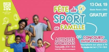 Fête du Sport en Famille 2019 !