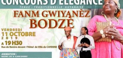 Concours d'élégance  Fanm Gwiyanèz Bodzè l