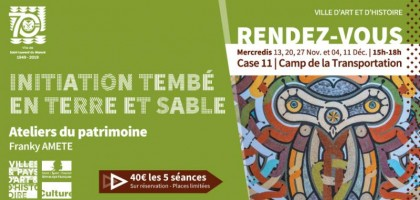 Ateliers d'initiation à l'art TEMBE