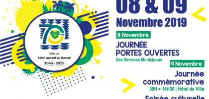 Célébration du 70ème anniversaire de Saint-Laurent du Maroni