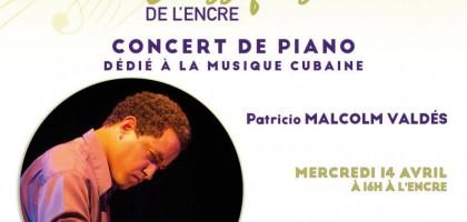 Concerts classiques du mois d'avril avec Patricio Malcolm Valdes