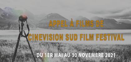Appel à films de CineVision Sud Film Festival du 1 mai au 30 nov 2021 (Guyane)