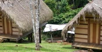 Camp touristique saut Léodate